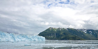 Hubbardgletsjer Alaska de V.S. Stock Afbeeldingen
