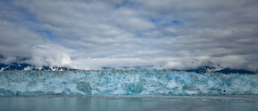 Hubbardgletsjer Alaska de V.S. Royalty-vrije Stock Foto