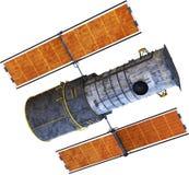 Hubble Telescope, satellite de l'espace, d'isolement illustration libre de droits