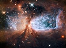 Hubblemening royalty-vrije illustratie
