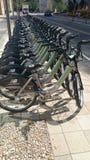 Hubbway rental cycles Royalty Free Stock Photo