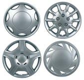 hubcap odizolowywający Zdjęcie Royalty Free