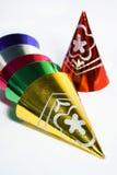 Hubcaps de Noël Images stock