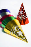 Hubcaps do Natal Imagens de Stock