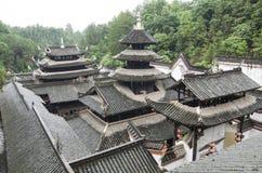 Hubei Enshi stadstorn Arkivfoton