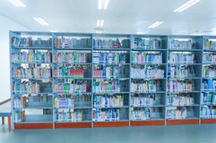 Hubei province library interior Royalty Free Stock Photography
