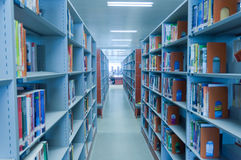 Hubei province library interior Stock Photos