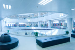 Hubei province library interior Royalty Free Stock Photo