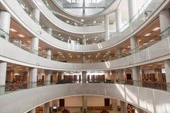 Hubei prowinci biblioteki wnętrze Obraz Royalty Free