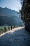 Hubei Yiling der Jangtse Three Gorges Dengyingxia in Longxi Lizenzfreie Stockfotografie