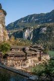 Hubei Yiling der Jangtse Three Gorges Dengyingxia in Longxi Lizenzfreies Stockbild