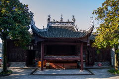 Hubei Yiling Huangling Temple stock photography