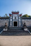Hubei Yiling Huangling Temple stock photos