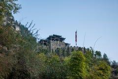Hubei Yiling Three Gorges del Three Gorges Dengying Gap en el camino de Three Gorges Foto de archivo