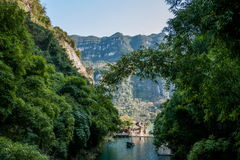 Hubei Yiling Yangtze River Three Gorges Dengyingxia in Longxi Stock Photos