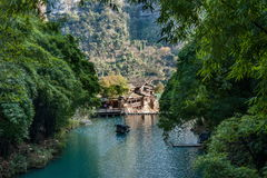 Hubei Yiling Yangtze River Three Gorges Dengyingxia in Longxi Royalty Free Stock Photos