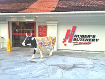 Huber's Butchery Stock Photography
