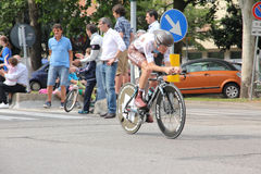 Hubert Dupont at giro d'Italia 2012 Stock Photography
