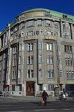 Hubert Gessner architektura na Linke Weinzeile Wiedeń zdjęcie royalty free