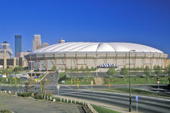 Hubert H. Humphrey Metrodome, Minneapolis, MN Royalty Free Stock Photo