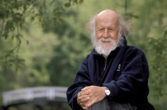 Hubert Reeves stock foto