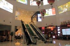 Hubin Yintai in77 shoppingmall Hangzhou China Royalty Free Stock Image