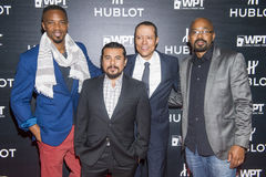 Hublot announces partnership with World Poker Tour Stock Images