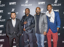 Hublot announces partnership with World Poker Tour Stock Photos