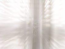 Hublot blanc lumineux changeant de plan dans l'action Photo libre de droits