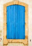 Hublot bleu Photographie stock