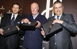 Hublot Chairman of the Board Jean Claude Biver Royalty Free Stock Photo