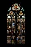 Hublot d'église Photographie stock libre de droits