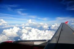 Hublot d'aéronefs Image stock