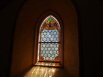 Hublot dans l'église Photographie stock libre de droits