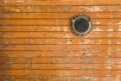 Hublot de bateau photographie stock libre de droits