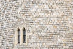 Hublot de château de Windsor Photos libres de droits