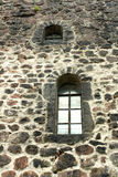 Hublot de forteresse de Viborg Olaf à St Petersburg photo libre de droits