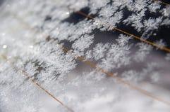 hublot de gel de véhicule Photo stock