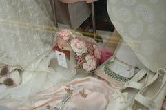 Hublot de mariées Photographie stock