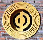 Hublot de pagoda Photos stock