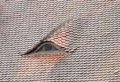 Hublot de proue sur le toit Photos stock
