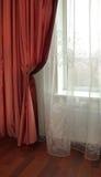 hublot de rideau Image stock