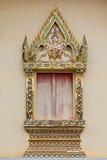 Hublot de temple thaï Photo libre de droits