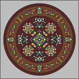 Hublot de verre coloré 002 Images libres de droits