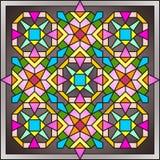 Hublot de verre coloré 005 Image libre de droits