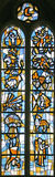 Hublot de verre coloré 32 Image libre de droits