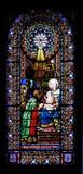 Hublot de verre coloré Photo libre de droits