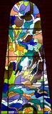 Hublot de verre coloré 65 Images stock