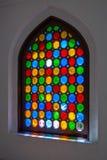 Hublot en verre coloré Image libre de droits