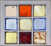 Hublot en verre souillé 6 Image stock